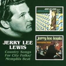 Jerry Lee Lewis : Country Songs for City Folks/memphis Beat CD (2005) ***NEW***