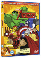 The Avengers - Earth's Mightiest Heroes Volume 4 DVD 2012 -  New and Sealed