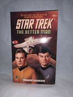 1994 Pocket Books Star Trek The Better Man Paperback Novel