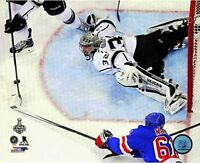 "Jonathan Quick Los Angeles Kings Stanley Cup Overhead Cam Photo (Size: 8"" x 10"")"