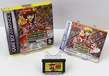 Nintendo Game Boy Advance GBA-Yu-Gi-Oh! Ultimate Master Edition instrucciones OVP