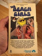 The Beach Girls Vhs 1982 Teen Comedy Early Paramount Release Super Rare Look