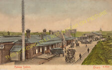Truro Railway Station Photo. Burngullow to Chacewater and Perranwell Lines. (13)
