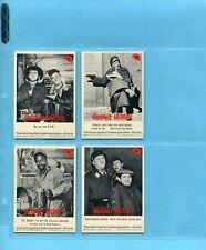 1965 Fleer Hogan's Heroes Lot of 4 Different Cards EX
