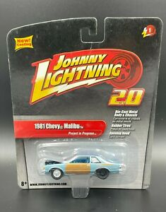 Johnny Lightning 2.0 Project in Progress 1981 Chevy Malibu