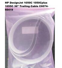 "HP DesignJet 1050C 1050Cplus 1055C 36"" Trailing Cable  C6074-60418"