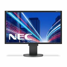 NEC MultiSync EA223WMBK 22 inch LED Monitor - 1680 x 1050, 5ms, Speakers, DVI