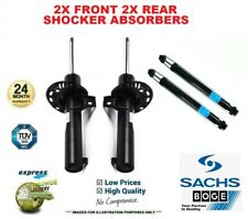 2x SACHS BOGE Front + 2x Rear SHOCK ABSORBERS for SKODA FABIA 1.9 SDI 2001-2007