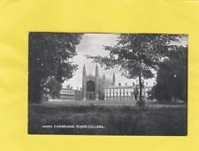 KING'S    COLLEGE       -   CAMBRIDGE  ( ZA 10 )