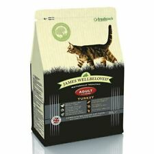 James Wellbeloved Complete Dry Adult Cat Food Turkey and Rice 300g Pack