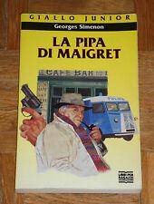 """Georges Simenon """"LA PIPA DI MAIGRET"""" Giallo Junior Mondadori"""