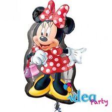 PALLONCINO mylar MINNIE sagoma 48x81 cm, Addobbi Festa Compleanno Disney