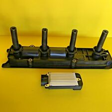 NEW IGNITION COIL ASSEMBLY AND OEM DELPHI IGNITION CONTROL MODULE (ICM) FOR GM