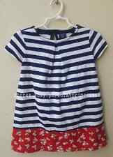AUTH BABY GAP PRINTED PLEAT DRESS SIZE 12-18 MONTHS BNEW