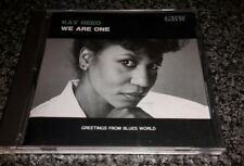 KAY REED We Are One CD Japanese Issue GBW 1992 Soul/Blues