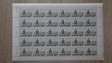 FEUILLE SHEET TIMBRES MONACO MNH**  Yvert T 59  coin daté 20-09-1971 TAXE