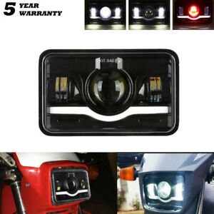 "1pc 4x6"" LED Headlight DRL For Chevrolet S10 1997 1996 1995 R10 87"