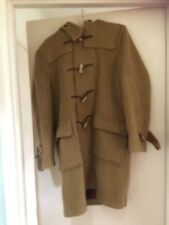 Homme Gloverall Laine Duffle-coat Camel Capuche Os Boutons Tailles UK 38 EU 48 Small