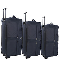 Wheeled Holdall Suitcase Cargo Travel Sports Bag=40-38-34-inch