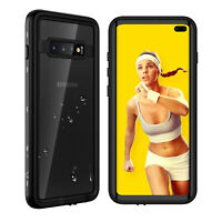 For Samsung Galaxy S10 Plus Waterproof Case Cover Built-in Screen Protector