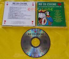 RE DI CUORI 16 canzoni d'amore anni '60 - VA Various Artists 1993