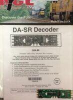 NCE 106 DA-SR DCC DECODER fits Atlas Kato Athearn Kato HO MODELRRSUPPLY $5 Offer