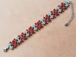"""VINTAGE COLLECTABLE * COSTUME JEWELRY * BRACELET 6-8"""" LONG, ADJUSTABLE"""