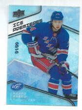 19-20 Upper Deck Ice Premieres Level 1 Rookie Kaapo Kakko 91/99 #141