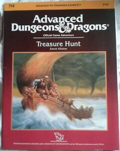 Advanced Dungeons & Dragons TREASURE HUNT   Official Game Adventure