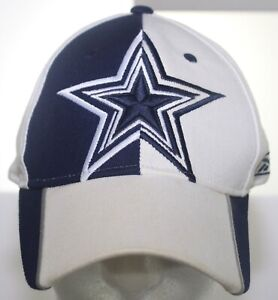 Vintage Dallas Cowboys Reebok NFL Equipment Strapback Cap Big Star Logo Hat 1Sz