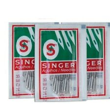 Singer Sewing Machine Needles 15x1 (2020) 10Needles ea.#9,12,14, 30pcs