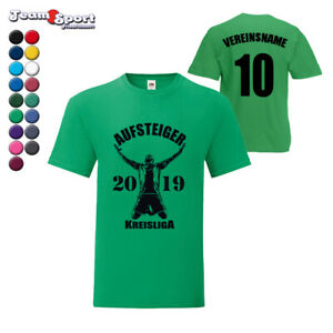 Aufsteiger T-Shirt in 17 Farben / Fussball Mallorca Meisterschaft Aufstiegsfeier