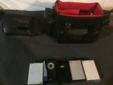 Panasonic Palmcorder Iq w/ case and 5 tapes