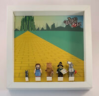 Display Frame for Lego Movie 2 Wizard Of OZ minifigures Series 71023 no figures