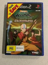 Avatar The Burning Earth Sony PlayStation 2 Console Game PAL PS2