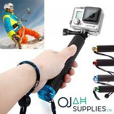 Empuñadura de poste Extensible Varilla para Selfies Monopie para GoPro Hero 4 3+ 3 2 1 Cámara