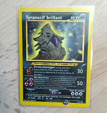 Carte pokemon Tyranocif Brillant 113/105 Neo Destiny