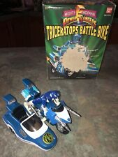 1993 Bandai MMPR power rangers triceratops battle bike complete w/ box