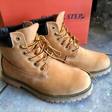 NEU Classic Boots Stiefel Von Simple Step Leder Cognac Braun Damen 38