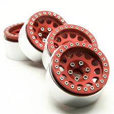 4x 1.9 Alloy beadlock 1/10 RC Crawler Car Wheels Rims Set FOR SCX10 CC01 Cars US