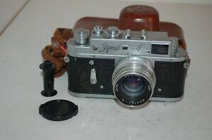Zorki-4 Vintage 1958 Soviet Rangefinder Camera, Jupiter-8 Lens. 5806043. UK Sale