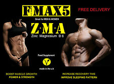 90 X ZMA Tablets Zinc Magnesium B6 Test Testosterone Booster Muscle Growth Pills