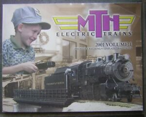 2001 MTH Electric Trains Volume 1 Large Soft Cover Book - Premier & Railking