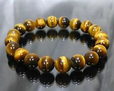 Tiger eye Natural Stone Healing Bracelet  AAA+++ 8 MM