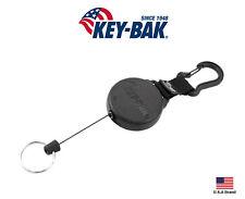 "Key-Bak SECURIT Retractable Carabiner Key Holder Super Duty 36"" Cord"