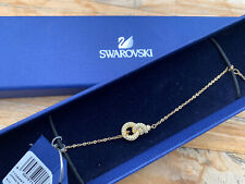 BNIB Stunning Swarovski Gold Rope Knot Bracelet  20cm