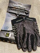 New Valken Phantom Agility Paintball Full-Finger Gloves - Grey/Black - Xl