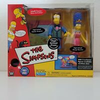 Playmates The Simpsons HIGH SCHOOL PROM MARGE HOMER PlaySet World of Springfield