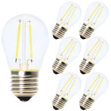 6x E27 Nicht Dimmbar Glühfaden LED Filament  Lampe 2W 180LM 6500K Kaltweiß