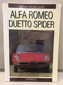 ALFA ROMEO DUETTO SPIDER Giorgio Nada Editore Book 1991 1st Ed English Language